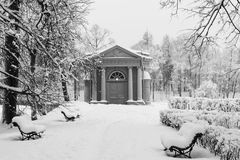 Pavilion of Love stock photography