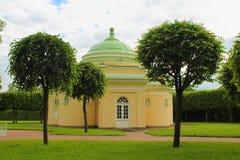 Pavilion the Lower Bathhouse, Tsarskoye Selo. Royalty Free Stock Image