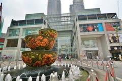 Pavilion mall entrance. Kuala Lumpur. Malaysia. Kuala Lumpur is the national capital and most populous global city in Malaysia Royalty Free Stock Photo