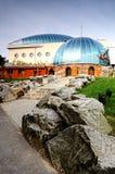 Pavilion monkey zoo in Bratislava Stock Image