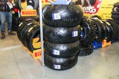 Pavilion moto rubber. Royalty Free Stock Photos