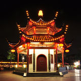 Pavilion at night Royalty Free Stock Image