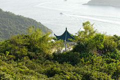 Pavilion at outdoor. In hong kong Stock Photos