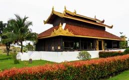 Pavilion palace in burma style Royalty Free Stock Photo