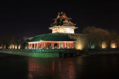 The pavilion of palace museum Stock Image