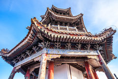 Pavilion in park of Beijing Royalty Free Stock Images