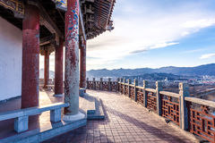 Pavilion in park of Beijing Stock Image
