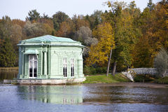 Pavilion in park. Gatchina. Petersburg. Russia. Royalty Free Stock Image