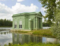 Pavilion in park in Gatchina, Russia Royalty Free Stock Photography