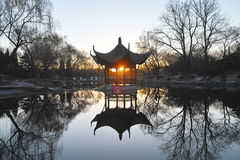 A pavilion in the park Stock Photography