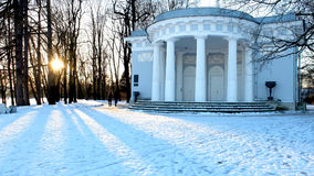 Pavilion in the Park Royalty Free Stock Image