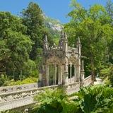 Pavilion of Quinta da Regaleira park Royalty Free Stock Photos