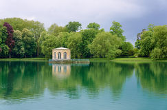 Pavilion in the park in royal residence Stock Image