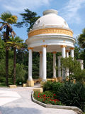 Pavilion in the Park of Sochi Stock Photos