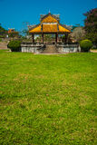 Pavilion in parks of citadel, Hue Royalty Free Stock Image