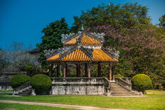 Pavilion in parks of citadel, Hue Royalty Free Stock Images