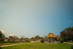 Pavilion in parks of citadel, Hue Stock Photography