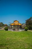 Pavilion in parks of citadel in Hue Royalty Free Stock Photos