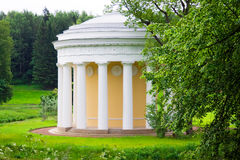 Pavilion in Pavlovsk Stock Images