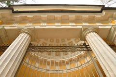 Pavilion in Pavlovsk Park. Royalty Free Stock Photography