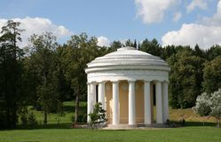 Pavilion in Pavlovsk Saint Petersburg Stock Photos
