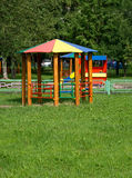 Pavilion for playground Royalty Free Stock Image
