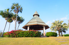 Pavilion in resort. Stock Photography