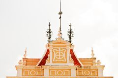 Pavilion roof Royalty Free Stock Photo