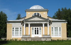 Pavilion of roses in Pavlovsk Royalty Free Stock Photo