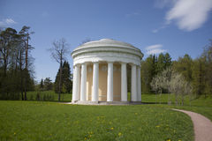 The pavilion-rotunda Temple of Friendship Stock Images
