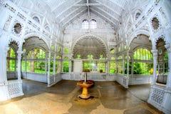 Pavilion of Rudolf spring - Marianske Lazne - Czech Republic Stock Photography
