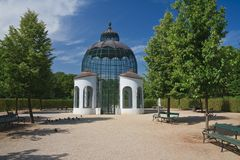 Pavilion. Schonbrunn Palace. Vienna, Austria Royalty Free Stock Images