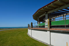 Pavilion by the sea Stock Images