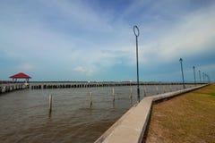 Pavilion sea sky Stock Photography