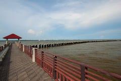 Pavilion sea sky Stock Photos