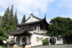 The pavilion  in the ShangHai Guilin Park Royalty Free Stock Images