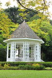 Pavilion at Singapore Botanic Gardens. Mark Pavilion at Singapore Botanic Gardens stock photo