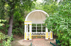 Pavilion  in the State Lermontov Museum-Reserve Tarkhany Royalty Free Stock Image