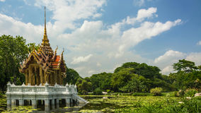 Pavilion In Suan Luang Rama 9 Of Thailand.  Royalty Free Stock Photography