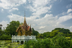 Pavilion In Suan Luang Rama 9 Of Thailand.  Stock Images