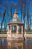 Pavilion in the Summer Garden, St. Petersburg Royalty Free Stock Photo