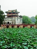 Pavilion in The Summer Palace Royalty Free Stock Photos