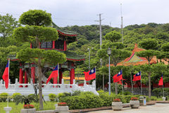 Pavilion of taipei martyrs' shrine Stock Images