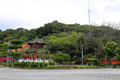 The pavilion in taipei martyrs' shrine Royalty Free Stock Image