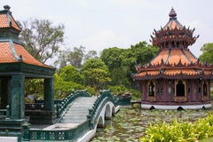 Pavilion in Thailand Royalty Free Stock Images