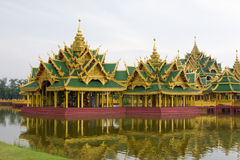 Pavilion in Thailand Stock Image