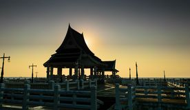Pavilion. From Thailand stock photos