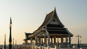 Pavilion. From Thailand royalty free stock photography