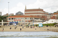 Pavilion Theatre, Bournemouth seaside resort Royalty Free Stock Photos