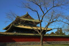Pavilion at Tiantan Royalty Free Stock Images